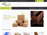 Škatle za pakiranje, darilne škatle, lepini trak in drugi pripomočki za pakiranje